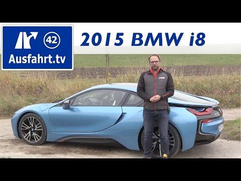 2015 BMW i8 - Fahrbericht der Probefahrt, Test, Review (German)