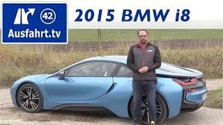 2015 bmw i8 fahrbericht der probefahrt test review german
