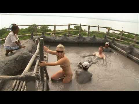Relax in a Mud Volcano