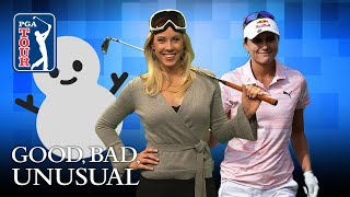 Snowy trick shots, a psyched Bubba & Lexi on TOUR
