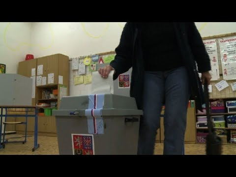 Prague: ​Czechs vote in round two of presidential election