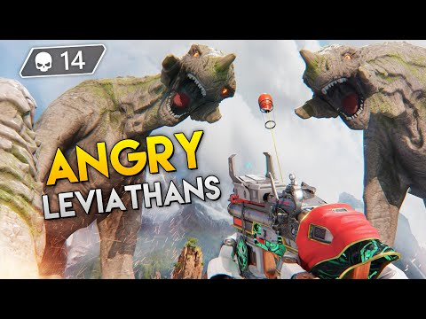 They PISSED OFF The *LEVIATHAN*!! | Best Apex Legends Funny Moments and Gameplay - Ep.185