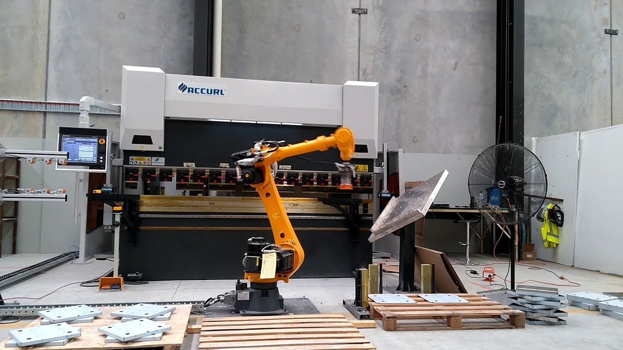 ACCURL Robotic CNC Press Brake for Robotic Bending Cell System