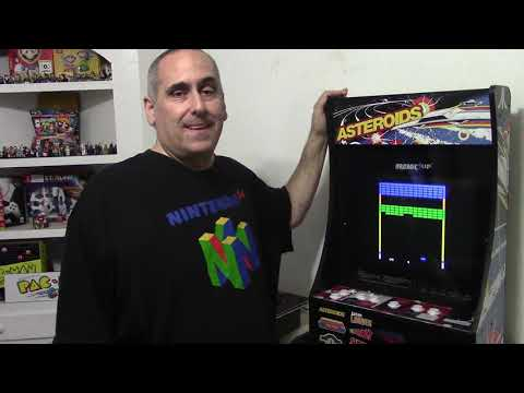 Arcade 1up Partycade Asteroids Quick Review from All Thats Fun