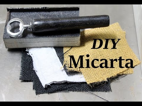 DIY Making Micarta for the first time,  Resin Casting