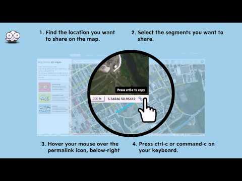 Waze: How to make a permalink