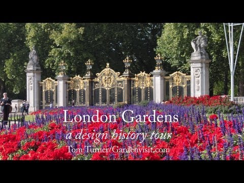 London Gardens & Parks Walk - design and history garden tour guide