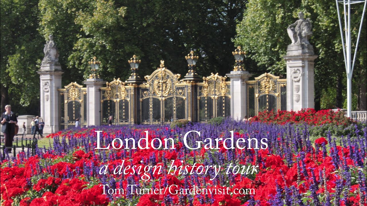 London Gardens Parks Walk design and history garden tour guide