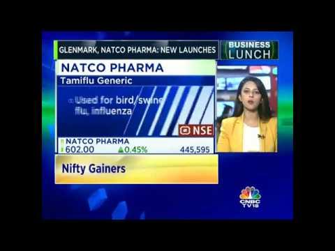 Glenmark Pharma & Natco Pharma In Focus Today