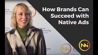 How brands can succeed with native ads - with Stephanie Losee, Visa Communications