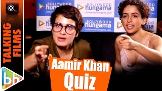 Fatima Shaikh & Sanya Malhotra talk Aamir, Dangal | Quiz | How Well Do They Know Mr Perfectionist