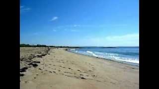 Straende in Maine: Half Mile Beach im Reid State Park