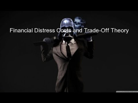 Financial Distress Costs and Trade-Off Theory