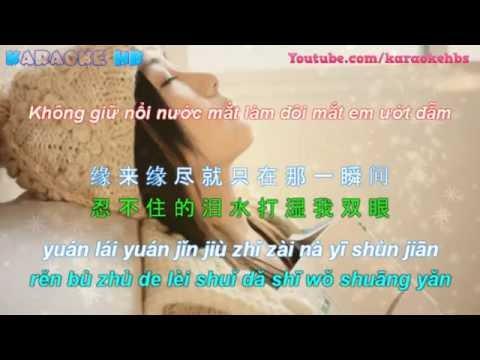 [ KaraVietsub ] Ở Trong Mộng   Zai Mong Zhong 在梦中-彭丽丽