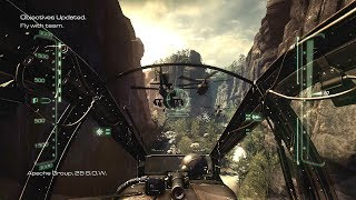 Very Epic Chopper Mission on Apache AH-64 ! Call of Duty Ghosts