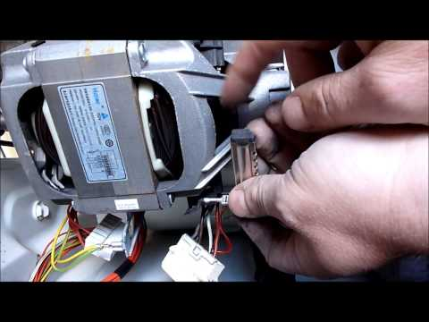 Hoover Washing Machine Motor Fault Repaired, Tachometer Tested