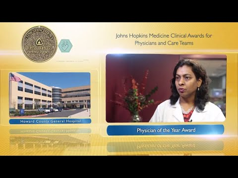 Physician of the Year – Srilatha Kanumuru MD Howard County General Hospital
