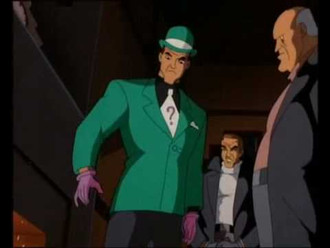 Batman vs  The Riddler