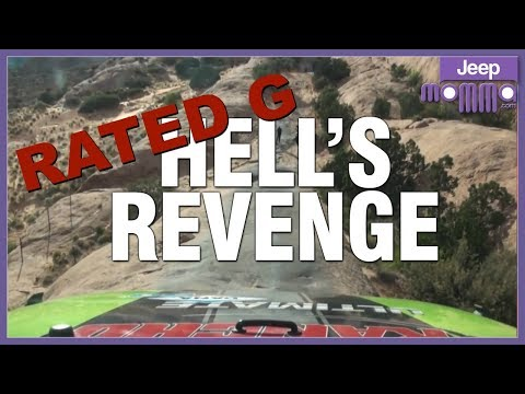 Hell's Revenge for the First Time in a Jeep Off Road - Scared to Death! Rated G Version