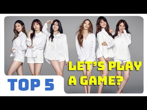 Top 5 Mobile Games Advertised By KPOP Idols