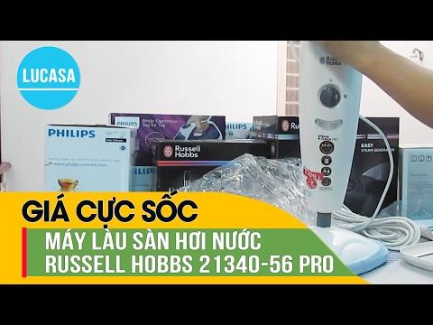 Máy lau sàn hơi nước hiệu Russell Hobbs 21340-56 Pro