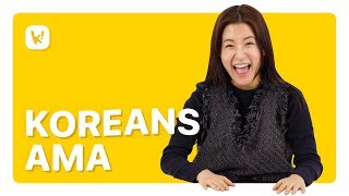How Many People Have You Had Sex With? | Koreans Ask Me Anything (AMA)