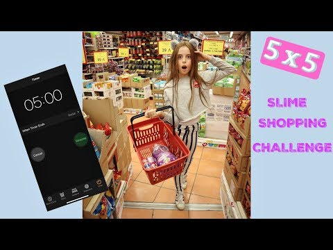 5x5 JUMBO Slime Challenge