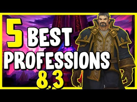 5 Best Professions In WoW BFA 8.3 – Gold Making, Gold Farming Guide
