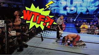 """2018: Austin Aries Altercation with Johnny Impact 
