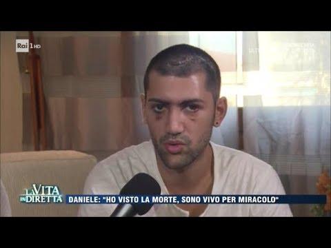 """Download Picchiato in discoteca senza un perché: """"Sono vivo per miracolo"""" - La Vita in Diretta 29/08/2017"""