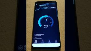 Speed test Galaxy S9+ in 4G+