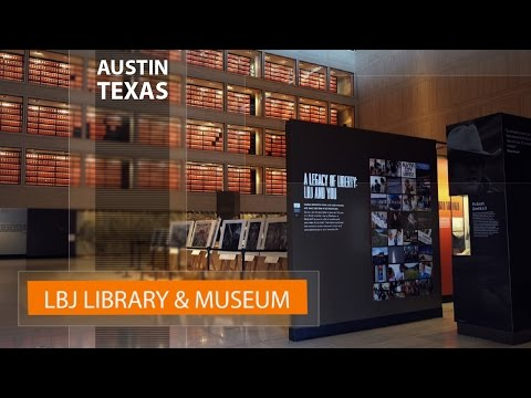 Vlog in Texas: Lyndon Johnson Presidential Library and Museum in Austin, TX