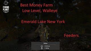 Fishing Planet, Money Farm Everglades Florida, Level 18 Gear