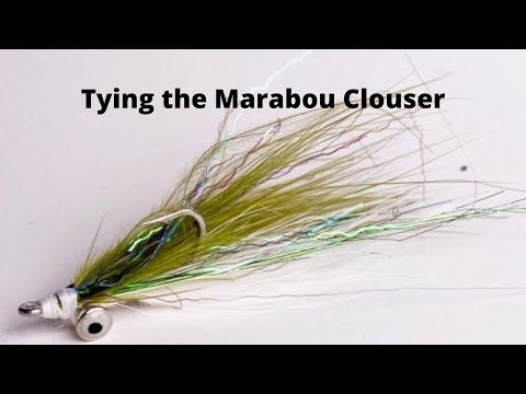 Fly Tying The Marabou Clouser For Fly Fishing Puget Sound
