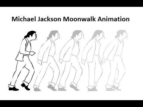 How To Animate Michael Jackson Moonwalk Flash Animation Youtube