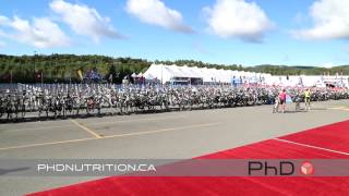 PHD Nutrition at Ironman Mont Tremblant race day