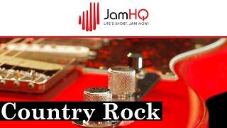 Country Rock - A Major (Jam Track for Guitar)