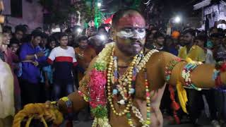 Chandu Pailwan Teenmaar Dance l Teenmaar Dance Steps l Ram Nagar Akhil Pailwan Bonalu