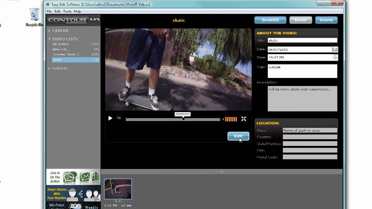 How to basics of editing with easy edit software youtube how to basics of editing with easy edit software ccuart Images