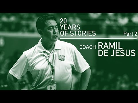 20 Years Of Stories: DLSU's Coach Ramil De Jesus (Part 2)