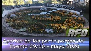 Evento 69/10: aportes individuales de participantes remotos - Mayo 2020