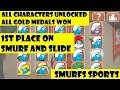 The Smurf Games – Sports Competition All 6 Events All Characters Unlocked
