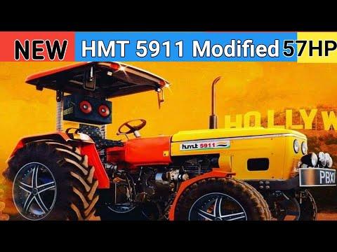 NEW HMT5911 Modified Hmt5911HMT 5911 Tractor Model 1979 Owner Review By Roby