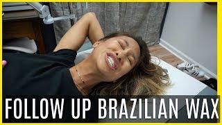 Baixar BRAZILIAN WAX FOLLOW UP! Was the 2nd time better? 😱