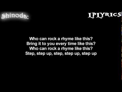 Linkin Park - Step Up [Lyrics on screen] HD