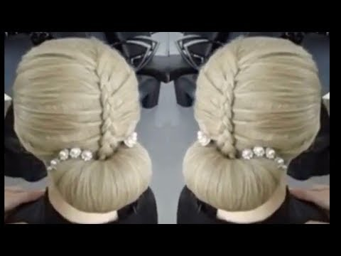 New Bun Hairstyle long hair Step By Step