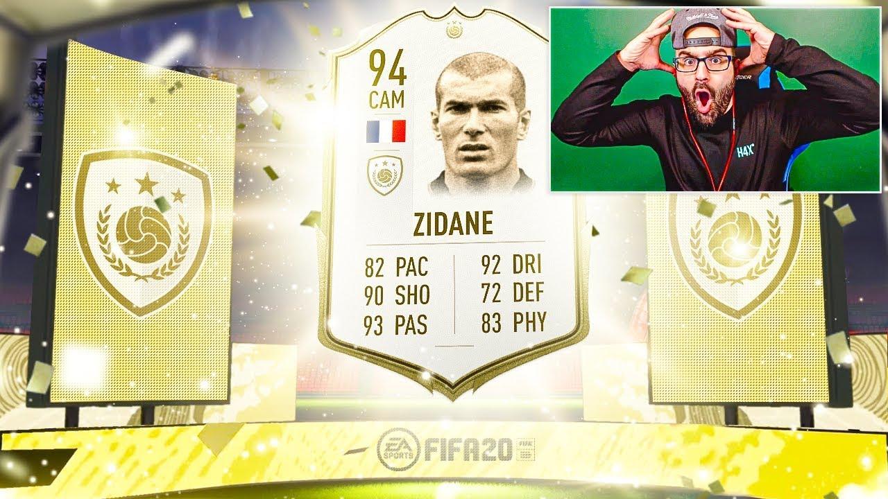 OMG I GOT ZIDANE!!! FIFA 20 Ultimate Team thumbnail