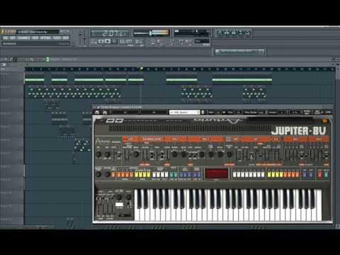 DJ René - Cylon Attack - Italo Disco ( Made with Fruity Loops 4 - 7 - 2017 )