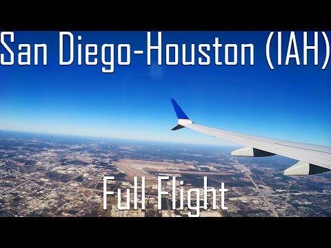 FULL FLIGHT | San Diego to Houston (George Bush) | B737 MAX 9 | United Airlines | UA2094