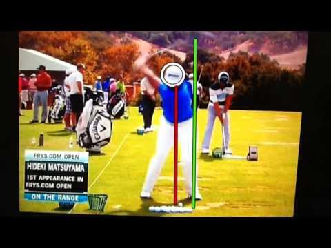 Hideki Matsuyama Swing Analysis
